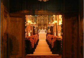Conto de fadas real – Igreja
