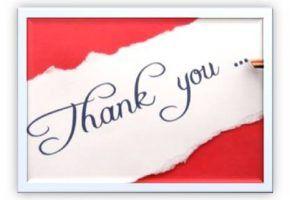 De noiva pra noiva: Cartão agradecimento