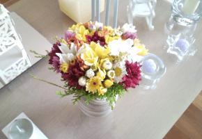 Decoração: flores!