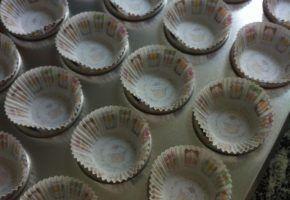 Culinária: cupcake de aniversário!