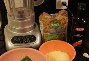 Culinária: molho pesto