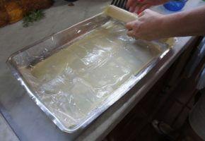 Culinária: casquinhas com massa de pastel
