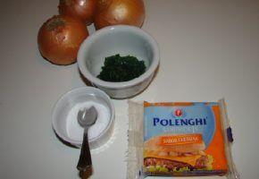 Culinária: cebola com cheddar