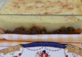 culinária: shepherd's pie