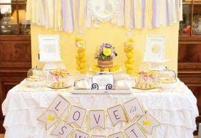 Chá de cozinha: lilás e limões sicilianos!