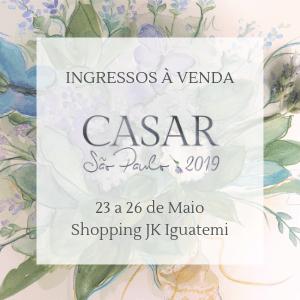 Ingressos Casar SP 2019